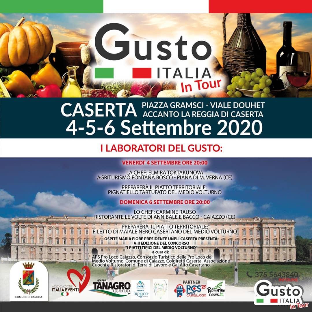GUSTO ITALIA 4/6 SETTEMBRE 2020