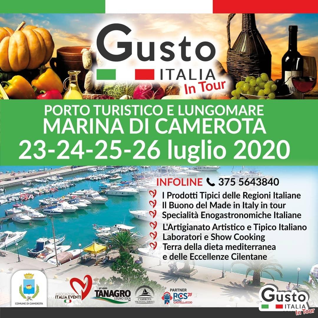 GUSTO ITALIA 23/26 LUGLIO 2020