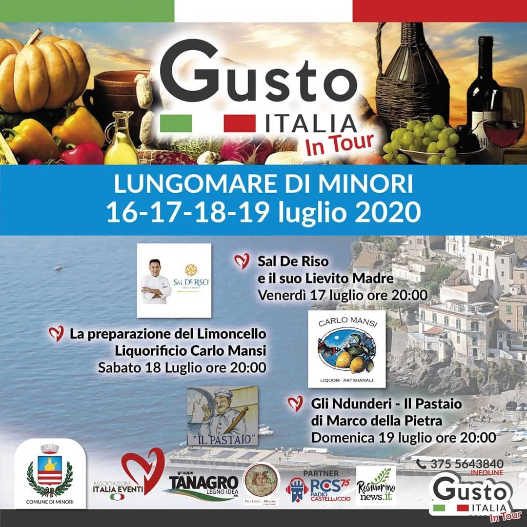 GUSTO ITALIA 16/19 LUGLIO 2020