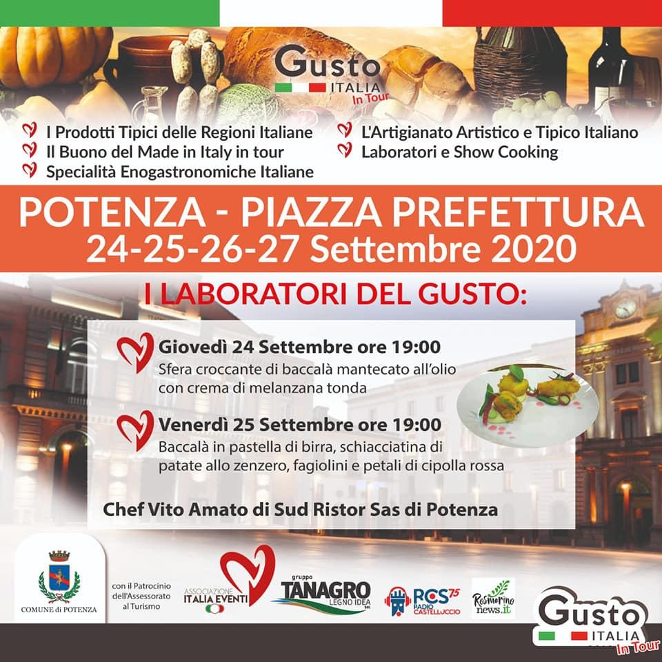 GUSTO ITALIA 24/27 SETTEMBRE 2020